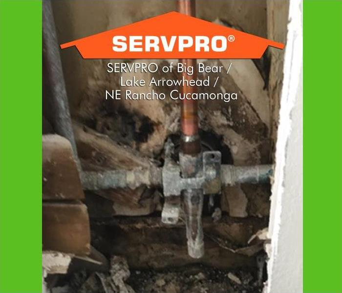 SERVPRO Burst Pipe Job