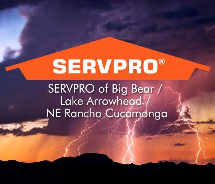 Thunder with SERVPRO logo