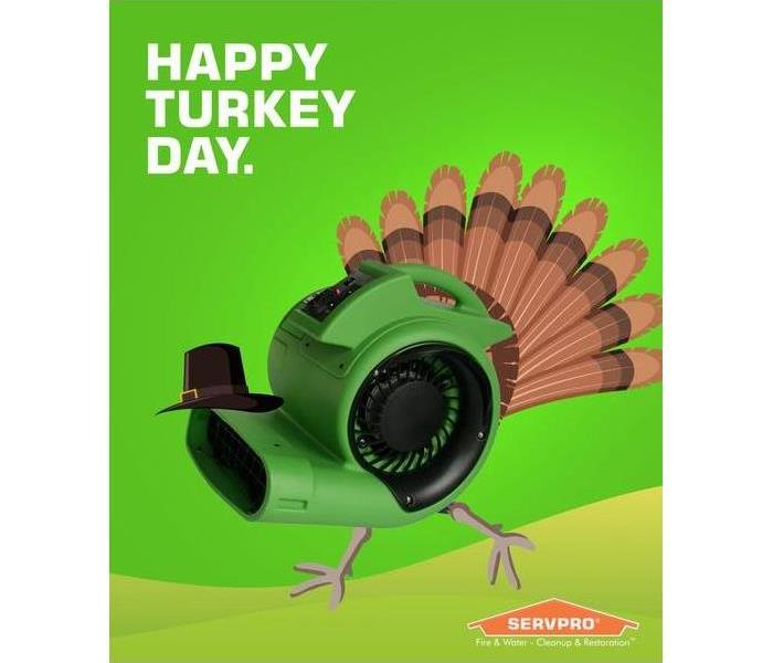 SERVPRO Turkey Thanksgiving Day